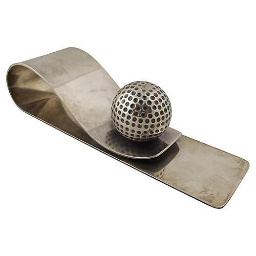 Hermès Golf Ball Paper Clip