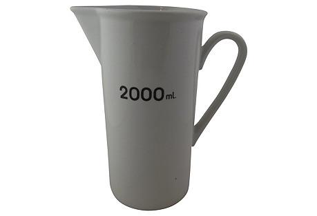 2L Porcelain Measuring Pitcher