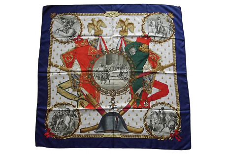 Hermès Napoleon Scarf