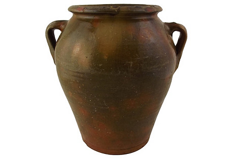 Large French Pottery Crock