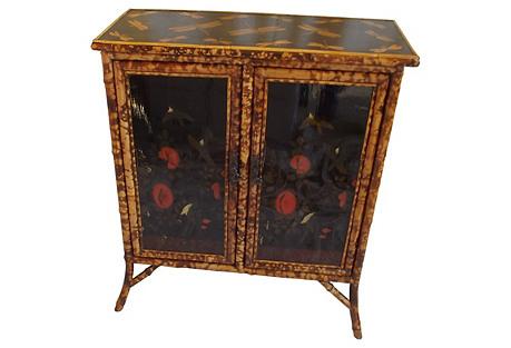 English Bamboo 2-Door Cabinet