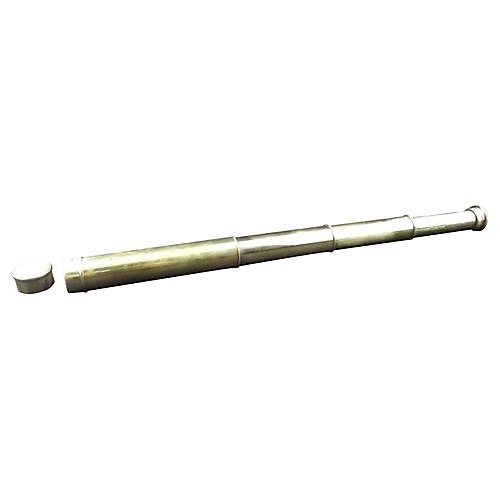 English Brass Telescope