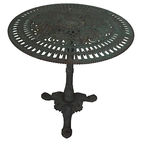 Napoleon III Cast Iron Garden Table