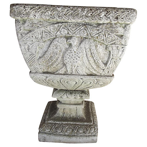 French Cast Stone Planter