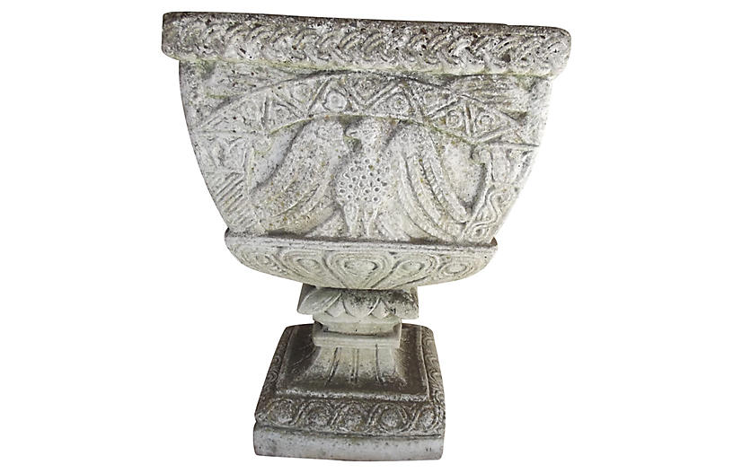 French Cast Stone Planter