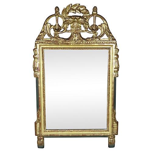 Swedish Gilt Mirror