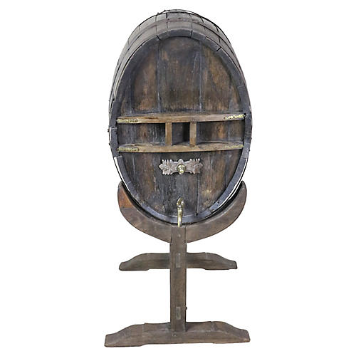 French Cognac Barrel
