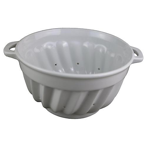 French Porcelain Colander