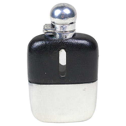 English Sheffield Pocket Flask
