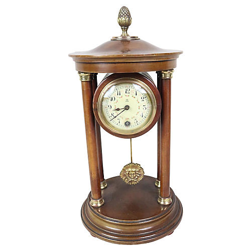 English Pergola Mantel Clock