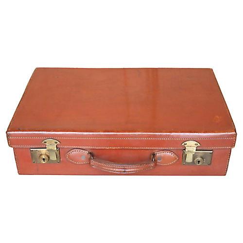 English Leather Suitcase