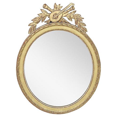 Oval Louis XVI Style Mirror