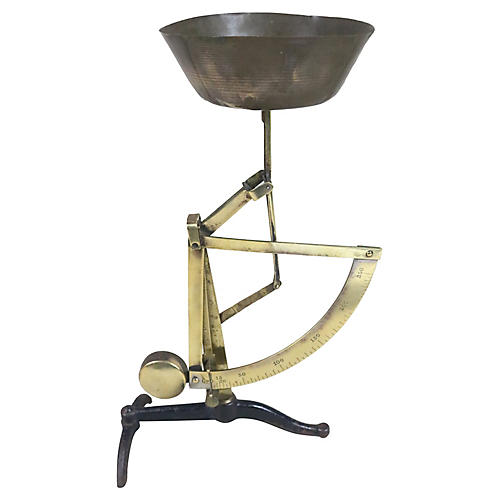 French Pendulum Scale