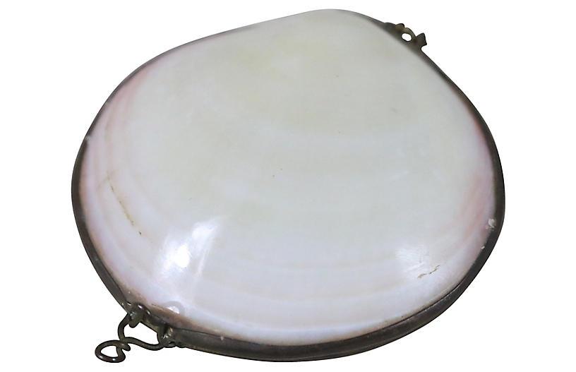 French Seashell Pill Box