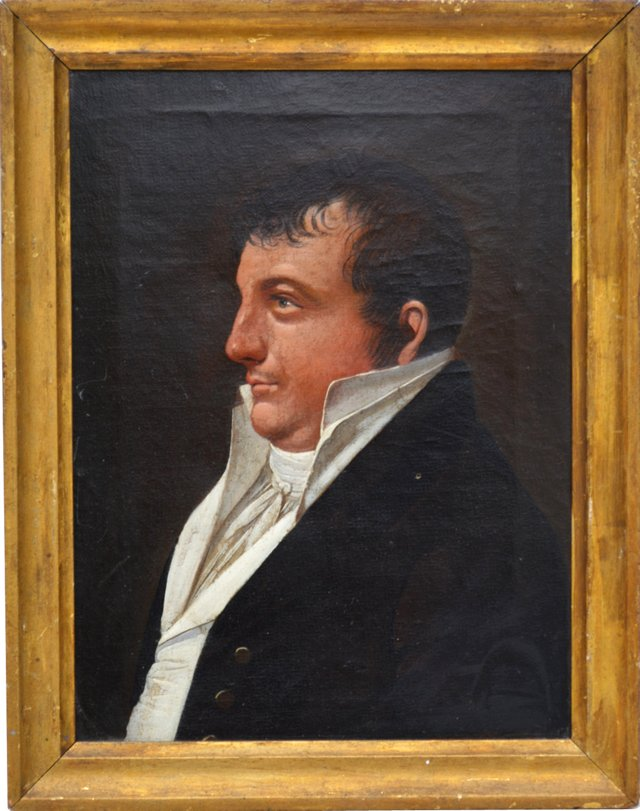 Early-19th-C. French Portrait
