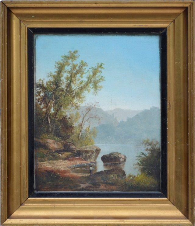 New England Landscape, C. 1875