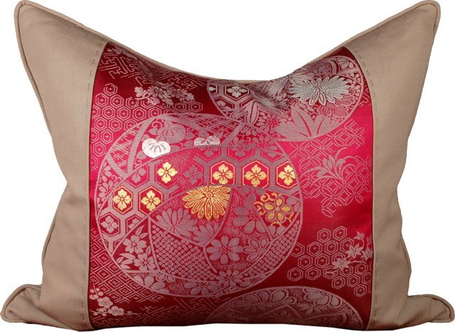 Japanese Obi Pillow