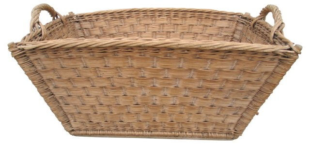 French Woven Basket