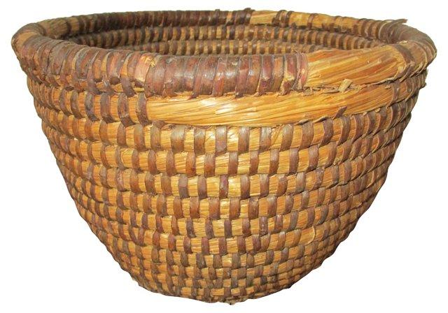 French    Rye   Straw     Basket