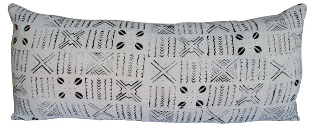 African Mud Cloth Body   Pillow