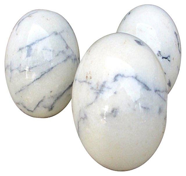 Italian Marble Spheres, S/3