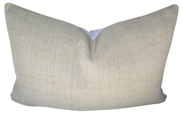 European Handwoven Linen Pillow