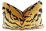 Scalamandre/Ralph   Lauren Velvet Pillow