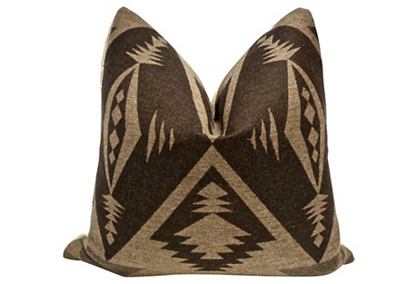 Ralph Lauren Trading Blanket Pillow