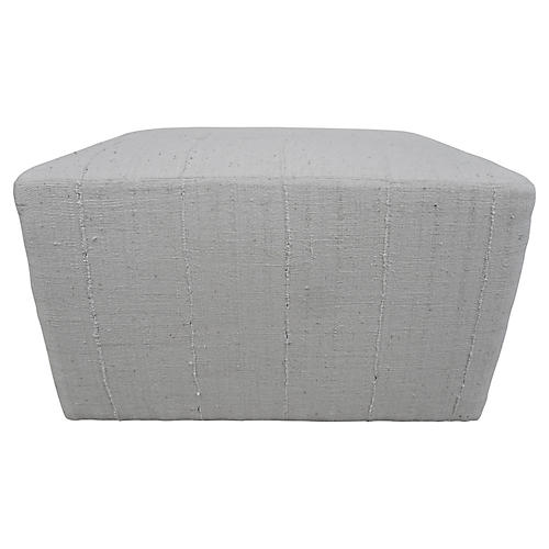 Mali Natural Handwoven Custom Ottoman