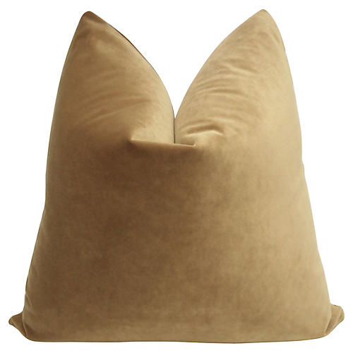 Sahara Velvet Pillow