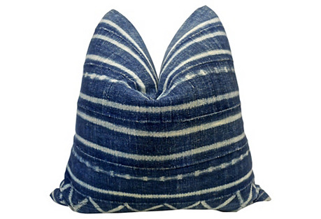 Burkina Faso Handwoven Stripe Pillow