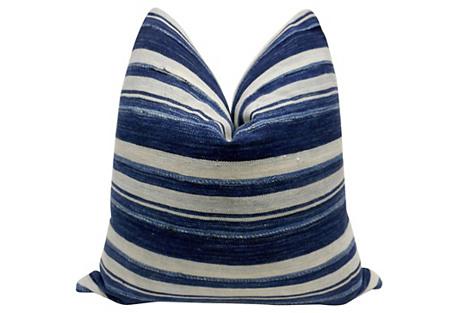 Burkina Faso Hand-Woven Pillow
