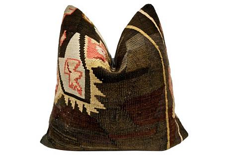 Anatolian Kilim Wool Pillow