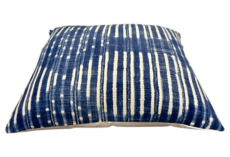 X-Large Indigo Bed Pillow / Floor Pillow