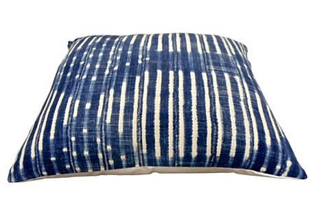 X-Large Indigo Bed Pillow / Floor Pillow