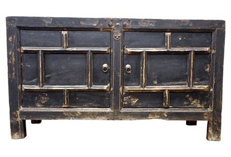 Shanxi Elm Cabinet, Circa: 1800's