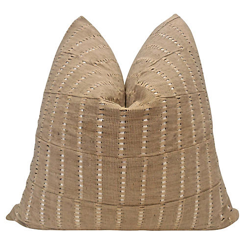 Cameroon Handwoven Vented Camel Pillow