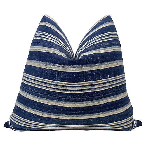 Mali Indigo Blues Pillow