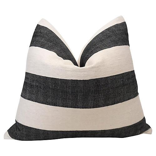 Berber Handloomed & French Linen Pillow