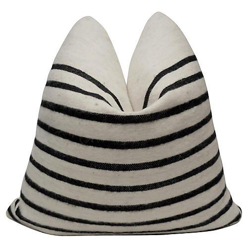 Berber Handloomed Organic Wool Pillow