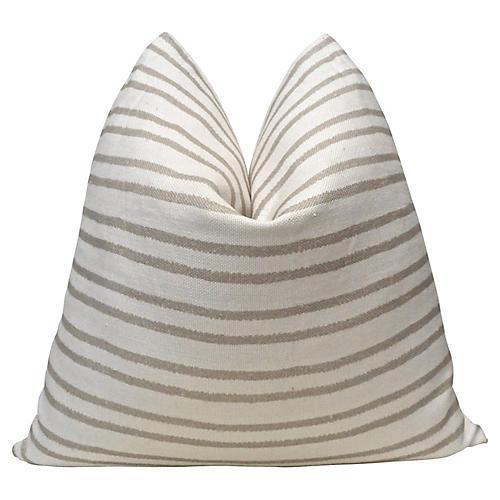 Yucatec Salt & Sand Linen Pillow