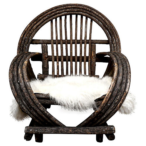 Bent-Branch Willow Chair