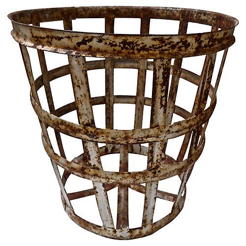 European Vintage Vintners Basket