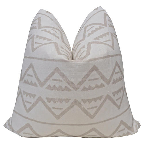 Yucatan Salt & Sand Linen Pillow