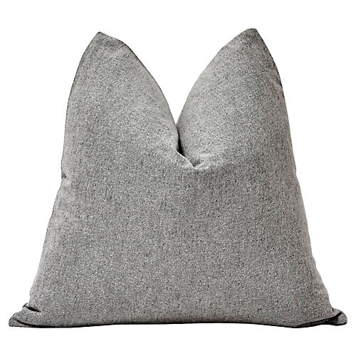 Gray Flannel Pillow