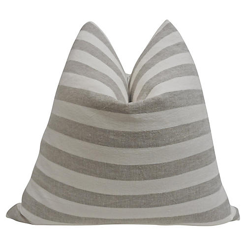 Stone-Washed European Linen Pillow