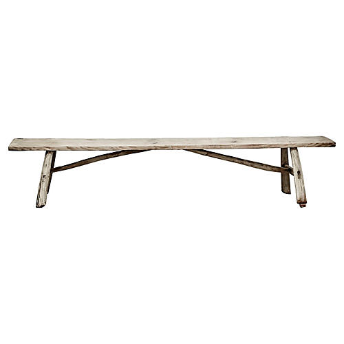 Antique Shandong Elm Bench/Table