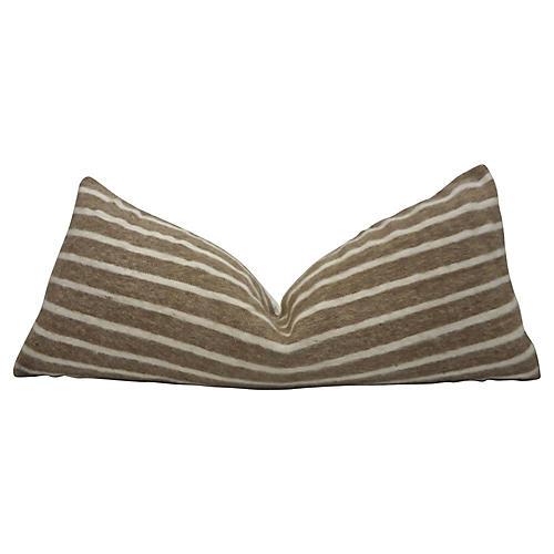 Berber Toffee Wool & Linen Body Pillow