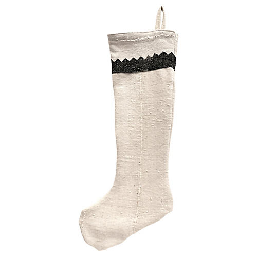 Natrual Mud-Cloth Stocking