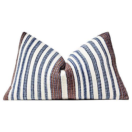 Turkish Hand-Spun Cotton Pillow